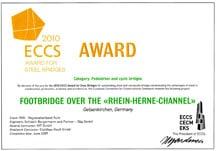 ECCS Award Europäischer Brückenbaupreis