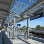 Bahnsteig -Haltepunkt Essen Kupferdreh